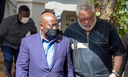 """""""Until NDC get someone like Rawlings, it will be hard for them to win an election in Ghana"""" – President Akufo-Addo speaks"""