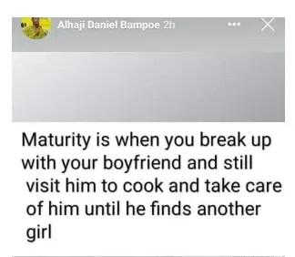 mature girlfriend