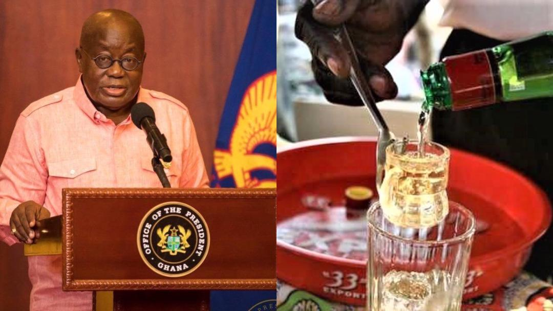 Ghana's 'akpeteshie' is one of the best in the world – President Akufo-Addo