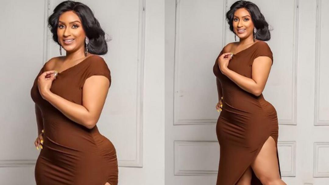 """Actress Juliet Ibrahim slams fan who tried to body-shame her for having """"pot belly"""""""