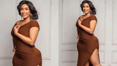 "Actress Juliet Ibrahim slams fan who tried to body-shame her for having ""pot belly"""
