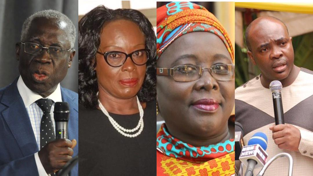 Ministers Who Lost Their Positions In President Akufo-Addo's Second Term Government