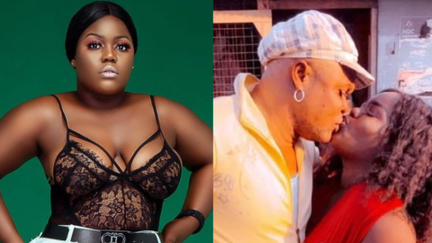 Video: Bukom Banku And Patapaa's Former Girlfriend, Queen Peezy Are Now Dating, Watch How They Kiss Passionately In Public