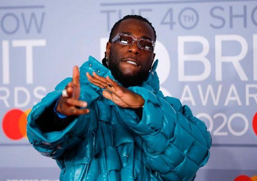 Nigeria's Burna Boy the only African artiste to make Biden-Harris inauguration playlist