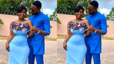 Yolo Star Cyril And Baby Mama In A Cute 'Save The Date' Shot (Photos)