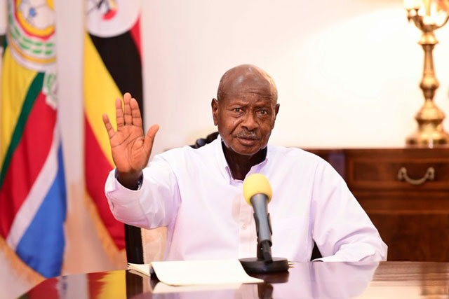 Yoweri Museveni: The 76-year-old Ugandan President who has ruled the country for 34 years and seeking re-election