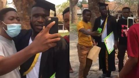 Ras Nene Aka Likee Finally Steps In Laygan (Legon) – Video
