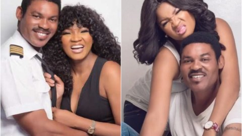 Omotola's Husband Has Allegedly Been Cheating On Her With A Young Side Chick, WhatsApp Messages Leaks