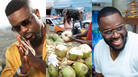 Video: Coded Of 4X4 Fame Can't Contain His Joy After Sarkodie Paid Him A Surprise Visit At Where He Sells Coconut