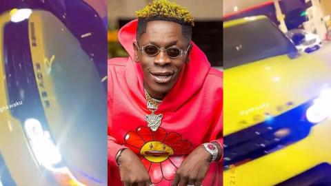 Shatta Wale Adds Another Range Rover To His Fleet Of Cars