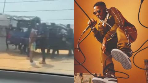Wizkid Arrest Rumors Cleared – Wizkid Shares A Post After Alleged Arrest By Police