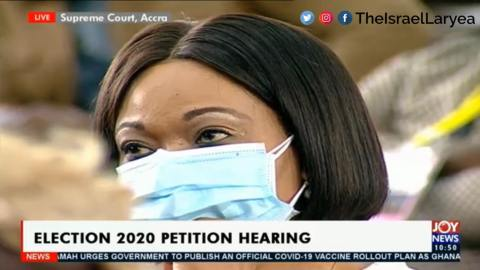"""Election Petition: """"Our witness, Madam Jean Mensa will not testify in court"""" – EC's lawyers"""