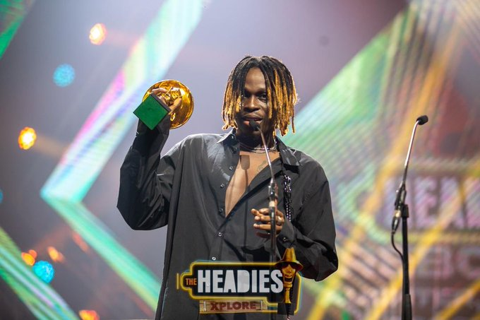 Headies Awards 2021: Fireboy DML, Wizkid Win Big [Full List Of Winners]