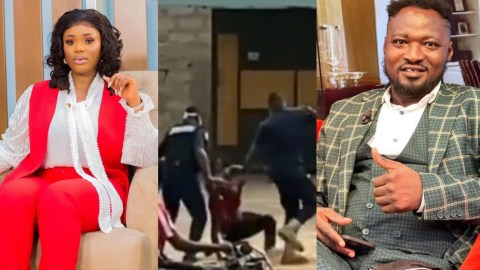 Why Do Some Men In Uniform Feel They Can Abuse People And Get Away With? – Akua GMB Reacts To Video Of Funny Face Being Slapped By Police