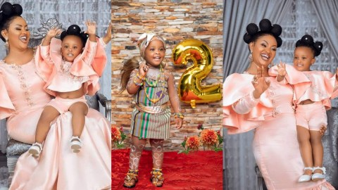 """""""My Happiness From God"""" – Nana Ama Mcbrown Says As She Marks Her Daughter's 2nd Birthday(+PHOTOS)"""