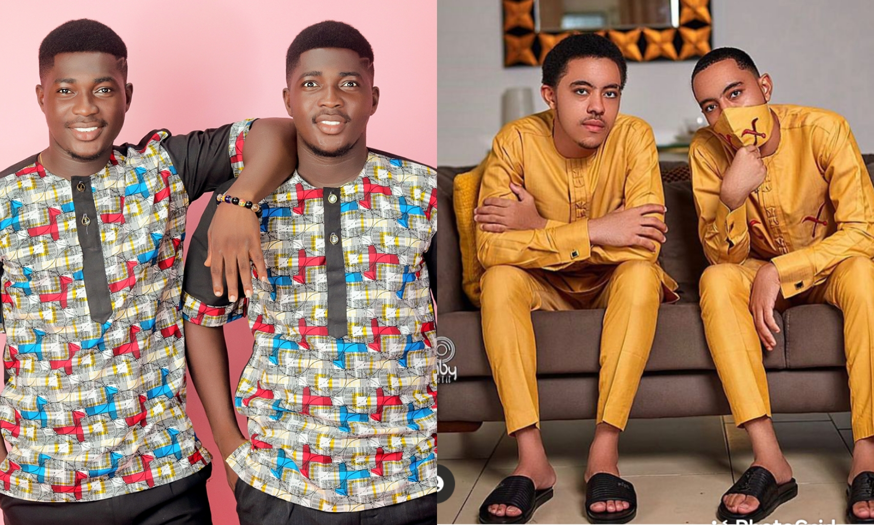 The Heerdegen Brothers VS The Mensah Brothers, The Most Popular Twins In Ghana