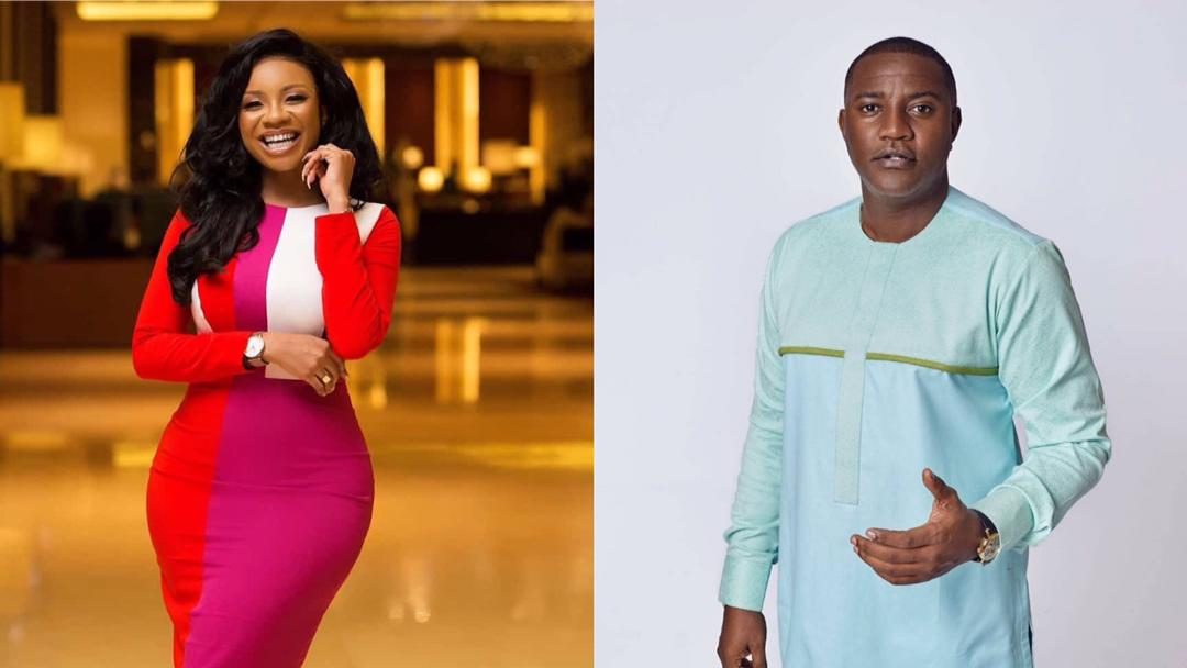 """""""Sweetie, kisses to you"""" – Serwaa Amihere sends intimate birthday message to John Dumelo"""