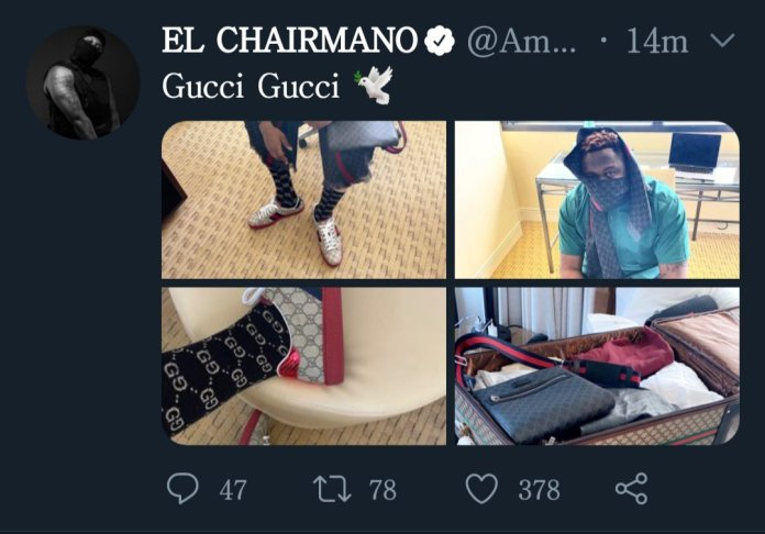 Medikal Goes In Hard On A Troll Who Said His New Gucci Sneakers Is 'Banku' 2