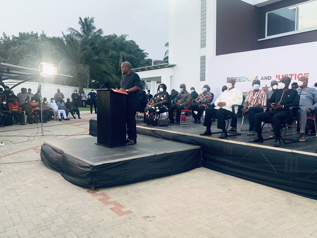 """""""NDC is the best party for Ghana, it is a party for all people"""" – Mahama"""