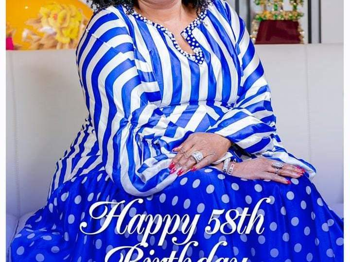 John Mahama's Powerful Message To Lordina On Her 58th Birthdayla