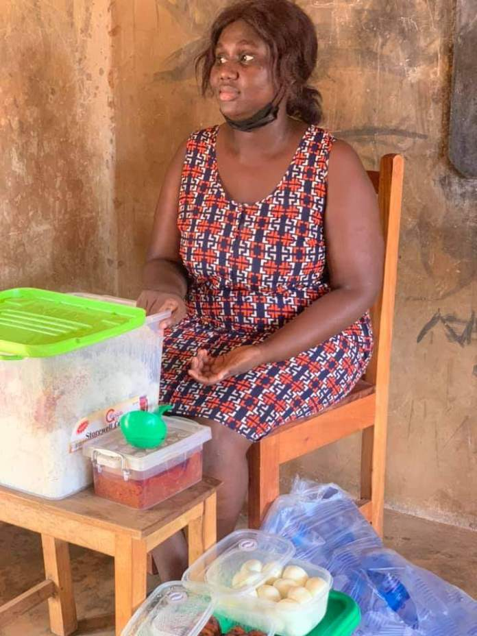 Meet Serwaah, the teacher who gives her students lunch every day despite her small earnings (photos) 8