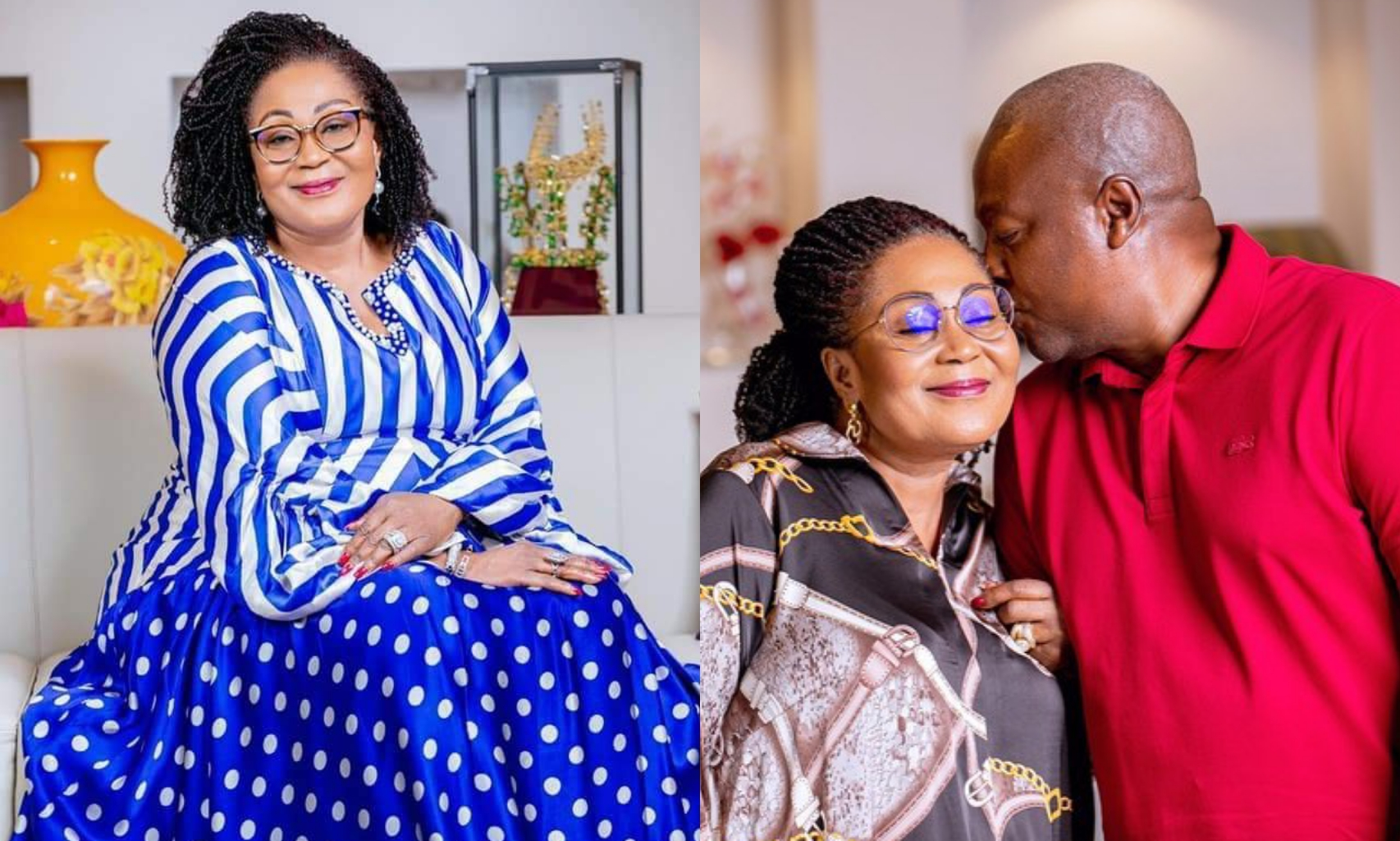 Your Love And Support Has Always Been My Strength – John Mahama Says As He Celebrates Wife's 58th Birthday
