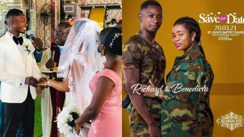 More Exclusive Photos From The Wedding Of Richard Agu And Benedicta Matopa Pops Up (+PHOTOS)