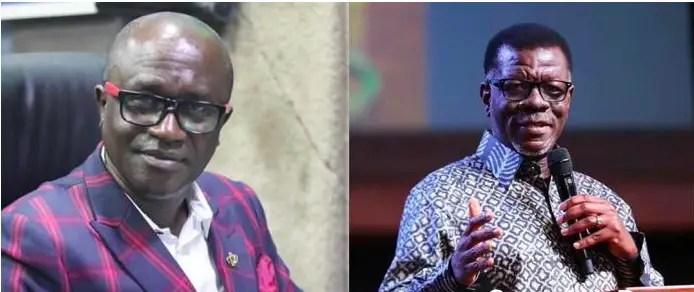 Pastor Mensah Otabil collapsed Capital Bank