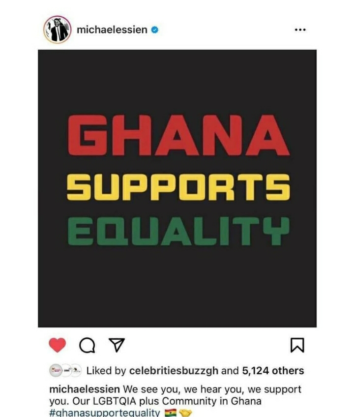 Essien supports LGBT community groups in Ghana