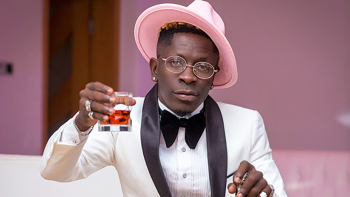 Shatta Wale brags again, reveals airtime balance on his mobile phone which is more than NABCO employee's monthly salary