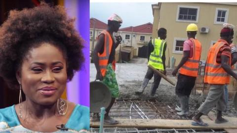 Actress Lydia Forson emotionally reveals how she reacted to trolls from construction workers asking her to get married [Listen]