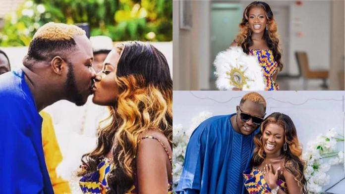 Happy 1-Year Marriage Anniversary To Mr & Mrs Frimpong
