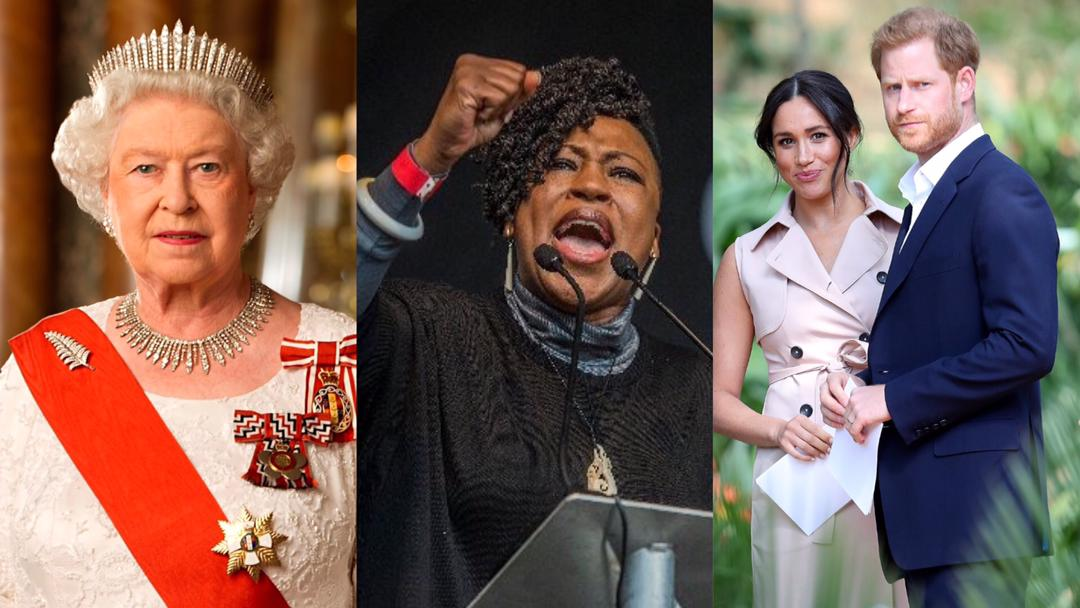 """""""The Royal Family is rooted in racism and colonialism"""" – Nigerian activist blasts Queen Elizabeth for selective treatment of Prince Harry and Meghan Markle [Video]"""