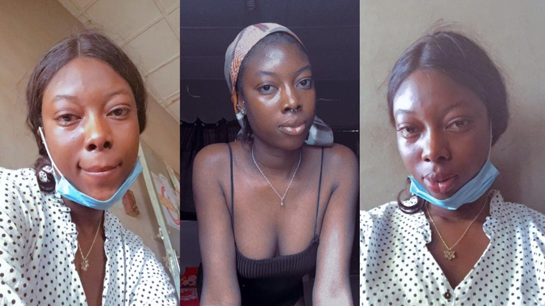 Lady forced to remove her nose ring and piercings after she risked being dismissed by University