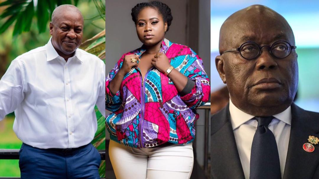 We are unable to criticize Akufo-Addo as we did to Mahama because he is intolerant – Actress Lydia Forson