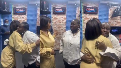 """""""I love your songs and I want to work with you"""" – Nigerian singer Teni tells Gyakie after the two met for the first time in Lagos [Video]"""