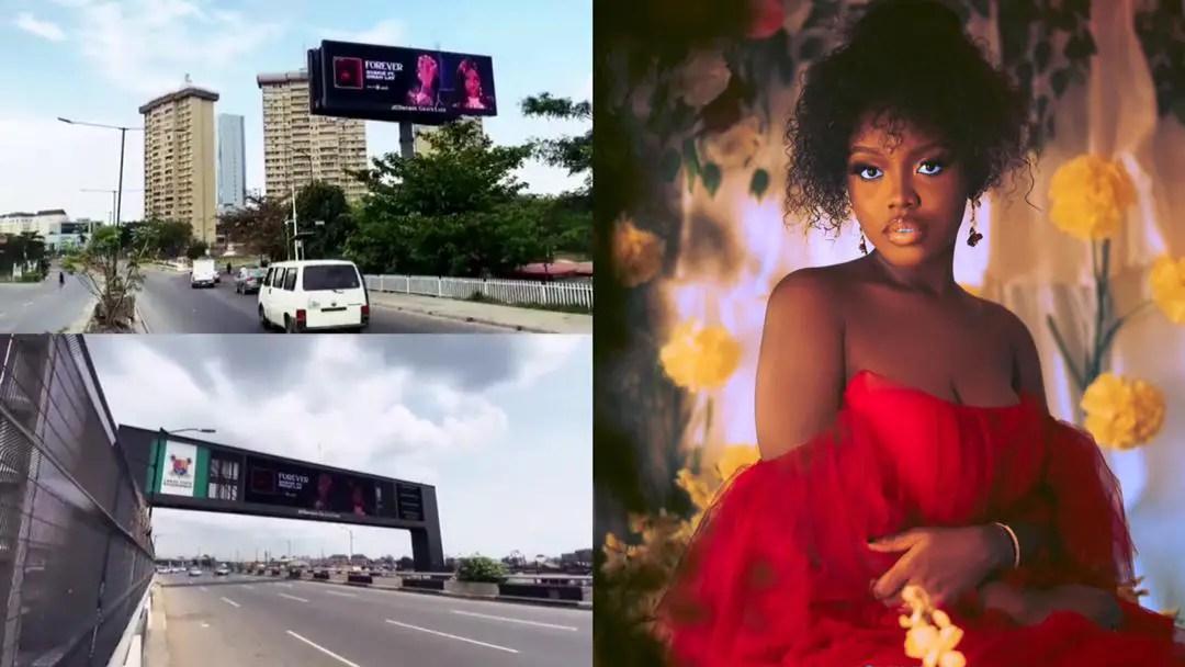 Huge billboards advertising Gyakie sighted across Nigeria [Video]