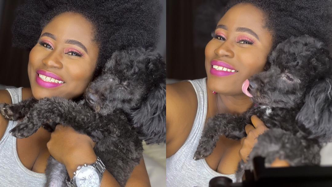 """""""Why should an animal be your bestie when there're so many human beings around?"""" – Fan quizzes Lydia Forson after posting dog as her bestie"""