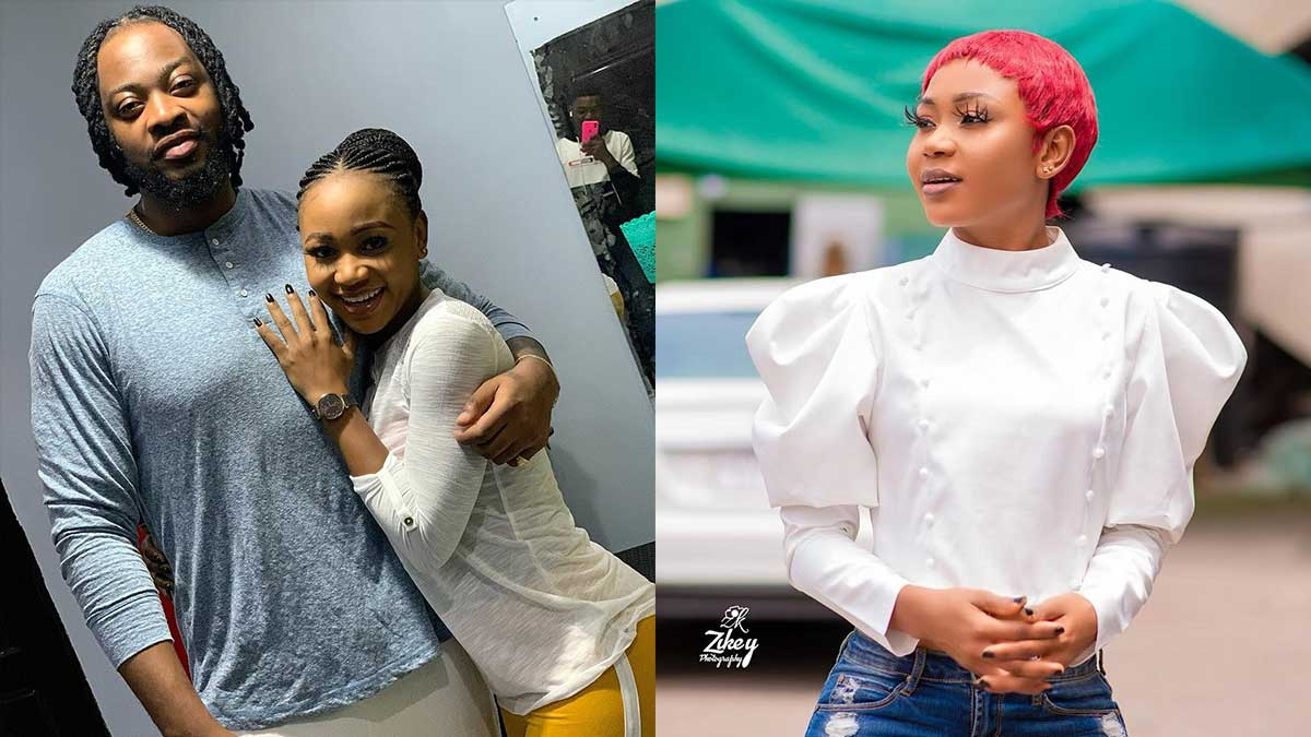 Nigerians drag Akuapem Poloo for forcing herself on married musician Teddy-A
