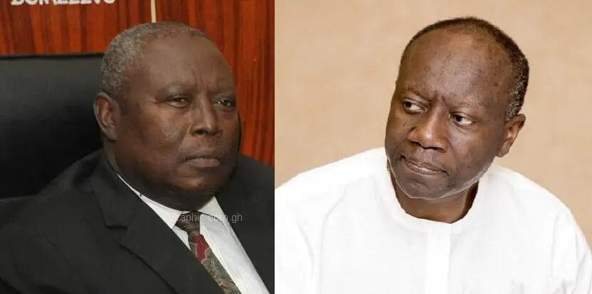 Martin Amidu was a disservice to our democracy – Ken Ofori-Atta