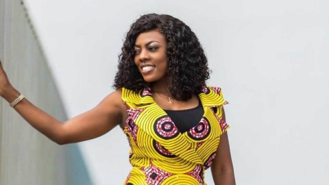 I don't deserve this- Nana Aba Anamoah sweats after young man she got job for was arrested for stealing close to ₵100,000