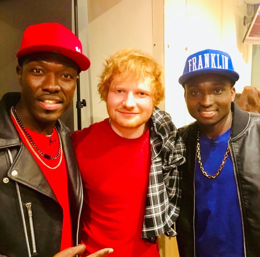 """Big Win: Reggie n Bollie recruit Ed Sheeran on the remix of their song """"Kiss Your Bride"""""""