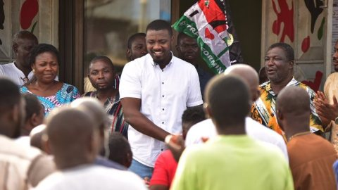 """""""The NDC government wouldn't have increased taxes as the NPP government has done"""" – John Dumelo"""