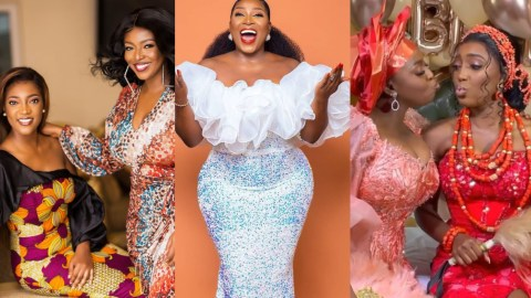 Gloria Sarfo Jumps To the Defense Of Yvonne After Ghanaians Ask Her Why Her Younger Sister Married Before Her Despite Being 36