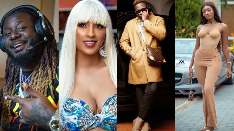 """(+VIDEO) """"He Won't Chop You!"""" – Ghanaians Bash Juliet Ibrahim After TPain Ignored Her, Medikal, Wendy Shay And Others"""