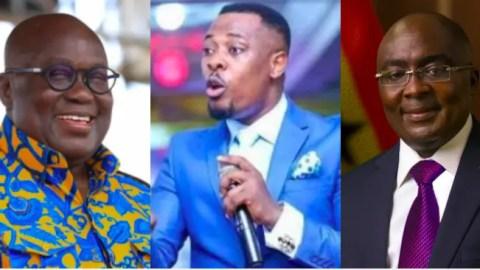 """I saw Bawumia wearing the shoes of Nana Addo before 2024"" – Prophet Nigel Gaisie"