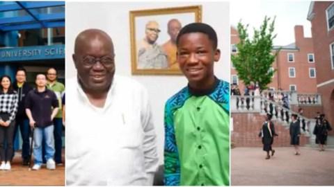 Free SHS ambassador Abraham Attah forgo Ghana university and enroll into US university