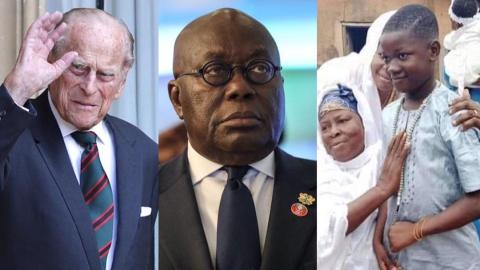 """""""You didn't speak on the Kasoa Ritual Killing but you are quick to send tribute to Prince Philip"""" – Ghanaians harshly criticize Akufo-Addo"""