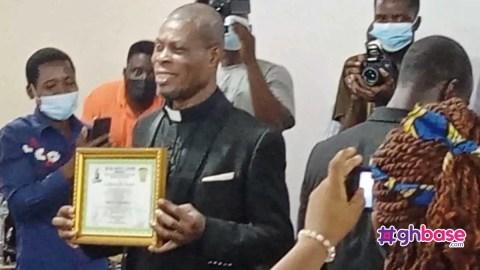 Popular Ghanaian actor, Waakye ordained as Reverend Minister