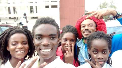 """""""At long last, the battle has ended and rasta is free forever"""" – Dreadlocked student, Tyrone Marhguy reacts happily; tells Achimota School to get ready for him"""